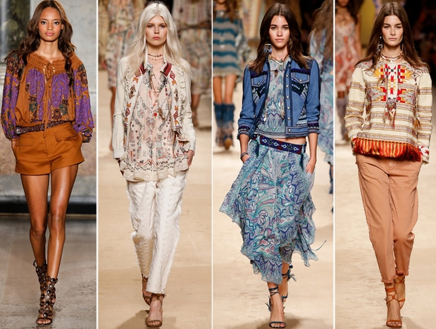Materials and Patterns of Bohemian Style
