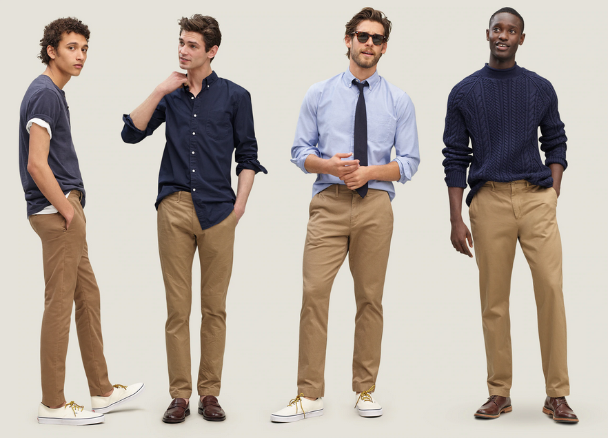 Men's Chinos Style Guide Part 1