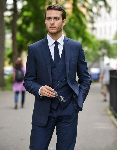 How To Wear A Navy Blue Blazer On Wednesday Timberland Fashion